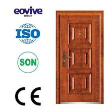 Surface de finition de porte en acier de conception américaine comme mobilier de sécurité
