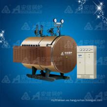 Caldera de vapor eléctrica de la industria horizontal