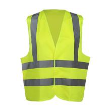 Gilet de sécurité haute visibilité pour adultes avec ruban réfléchissant