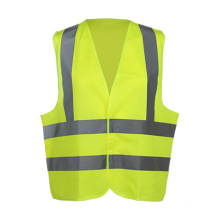 High-Visibility Safety Vest for Adults with Reflective Tape