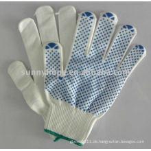 Pvc punktierter Handschuh für die Automobilindustrie