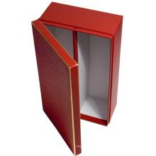 Luxury Cardboard Wardrobe Style Wine Bottle Pack Box, Wholesale Cardboard Wine Boxes, Packaging