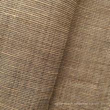Tissu teinté de fil mélangé rayonné de lin (QF13-0500)