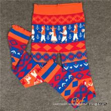 Pantalones largos de invierno coloridos y súper suaves para mujeres