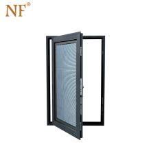 Double Glass Side-Hung Opening Casement Window PVC Window