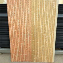 Placa de parede externa de material leve pu metal