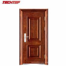 TPS-037 Hecho en China Puerta exterior de hierro Puerta exterior de acero Puerta de hierro