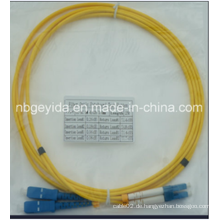 3.0 Sc-LC Sm Duplex Faseroptik Patchkabel