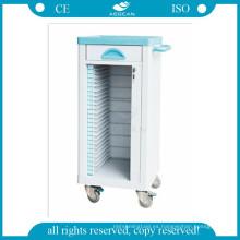 AG-CHT004 médico ABS material paciente hospital expediente médico carro