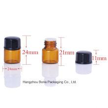 Garrafa da amostra da garrafa do Pefume de vidro de 1ml 2ml 3ml