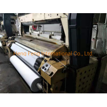 Tsudakoma Zw405 210cm Water Jet Loom Used 2 Nozzles with Staubli 2521A Dobby for Sale in Running Condition Year 1997