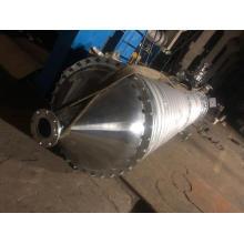 Evaporador de película raspadora rotativa
