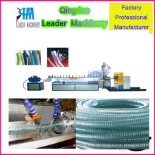 Máquina de extrusão de mangueira de fio de aço de PVC reforçada