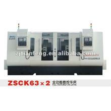 ZHAO SHAN CK-63 * 2 torno CNC herramienta de máquina de alto rendimiento