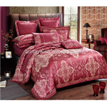 Luxury Jacquard Bed Cover Bedding Set with Quilt Cover Bed Sheet and Pillow Cases