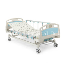 ABS Two-Function Manual Hospital Beds Factory Price/CE/ISO13485/ISO9001