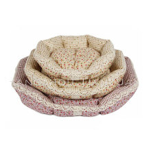 Factory Direct Selling Flower Cute Fancy Dog Beds Luxury Pet Bed for Dog