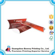 Impresión personalizada del paquete de la caja del caramelo de la almohada de la caja de papel del diseño