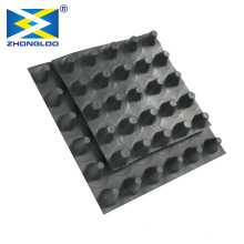 High Quality Eco-friendly Construction Waterproof Dimple Membrane Drain Mat Plastic Sheet HDPE Drainage Board
