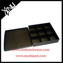 Caja de almacenamiento de corbata hecha de papel personalizado de fábrica