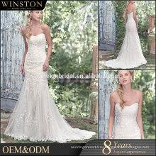 100% реальные фотографии на заказ вышитые тюль ткань лиф атласная кружева крест назад Дубай свадебное платье