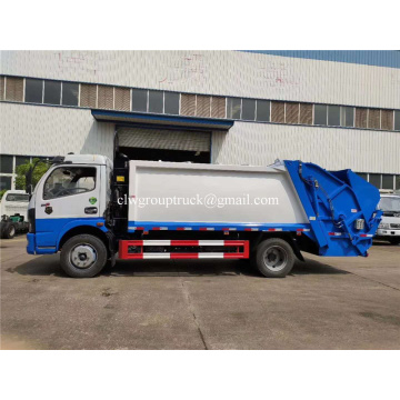 Dongfeng 4000L-5000Lsmall compressed Rubbish Vehicle