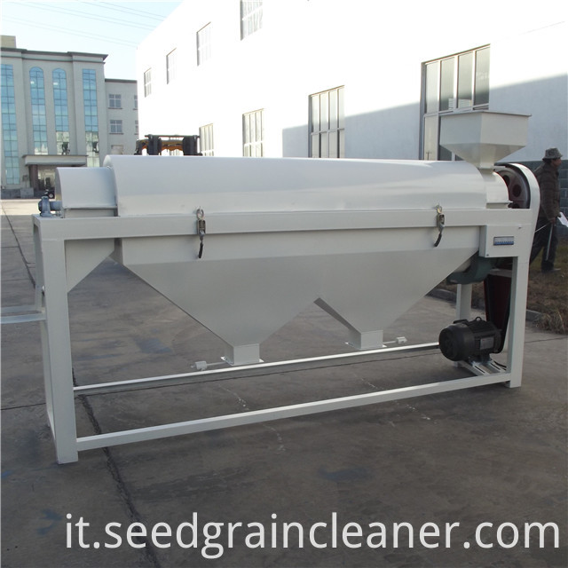 bean polishing machine 11