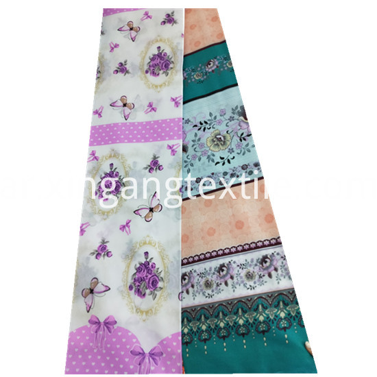 Beautiful Flower Designs Printing 100 Polyester Microfiber2