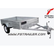 Hot sale!! hot dipped galvanized box trailer/car trailer