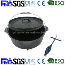 12qt Preseasoned Cast Iron Dutch Oven China Factory