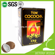most popular bbq coconut charcoal shisha briquette
