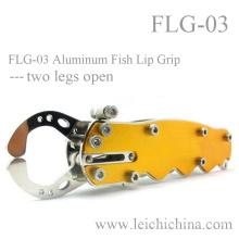 Poignée à lèvres en aluminium avec deux jambes ouvertes