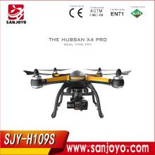 Hubsan х4 H109S Pro в режиме реального времени 5.8 г fpv с 1080p HD камера 3 оси карданного ГПС профессиональный quadcopter