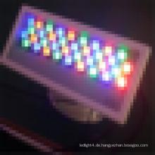 IP67 DMX Small Wall Washer wasserdichte LED-Leuchten im Freien Wand montiert LED-Licht