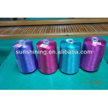Fil de filaments de rayonne viscose teintée 1200D / 30F prix bon marché