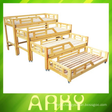 2014 New Arrival wooden children bed for preschool&home