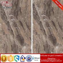China fabrica las baldosas cerámicas finas esmaltadas cara de la piedra de imitación de la piedra de 1800x900m m