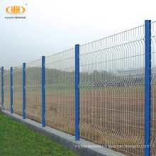 High security real factory supplier 3D welded curved fence panels