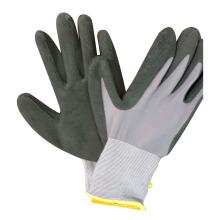 15 Gauge Nylon Gloves Foam Latex Coated Gloves Work Glove