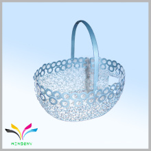 Venta al por mayor de metal hierro staorage cesta de rack para accesorios de cocina
