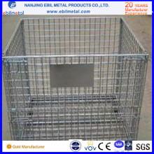 Récipient pliable de treillis métallique personnalisable de haute qualité
