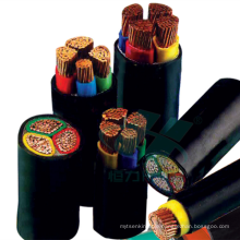 35 50 70mm2 XLPE insulated thin steel wire armouring toxicity free harmless termite proof polyolefine sheath power cable
