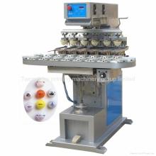 TM-S6c 6 Color bola corrales a impresora del Tampo de juguetes con el transportador