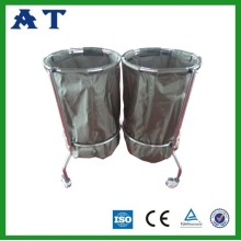 Hospital stainless steel Storage hospital linen trolleys