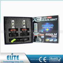 Autolampe führte Fabrik-Versorgungsmaterial x3 k6 g7 g8 s1 s2 v5 t5 r4 h4 h7 9004 9007 führte Scheinwerferbirne