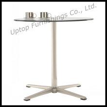 Отдых 4 звезды база круглый стеклянный обеденный стол (СП-GT101)