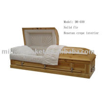 DH-030 cremation casket with screws and nails