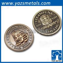Горячий продавая высокомарочный штемпелевать монетку
