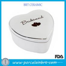 Керамические свадебный подарок коробка в форме сердца