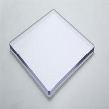 Painel de folha sólida de policarbonato transparente de policarbonato
